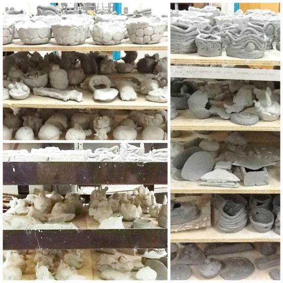 Clay racks