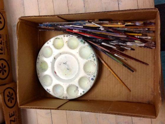 Palette box 1