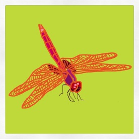 April 1(90): Draw something with wings App: Brushes Dragonfly for my friend Jean (Bean)... #everydaydrawingchallenge #brushes