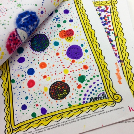 marker dots