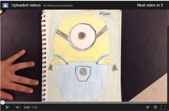 Click on the Minion to see the video...