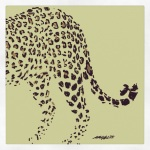 "October 16 (#288): Draw something with spots App: ArtRage Tool: Oil Paint - They say - ""A leopard doesn't change its spots""..."