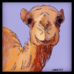 December 18 (#352): Draw a desert animal App: ArtRage Tool: Watercolor & Pencil - Hey, what day is it?
