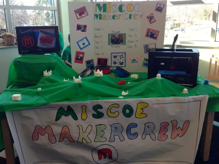 The MiscoeMakerCrew table...