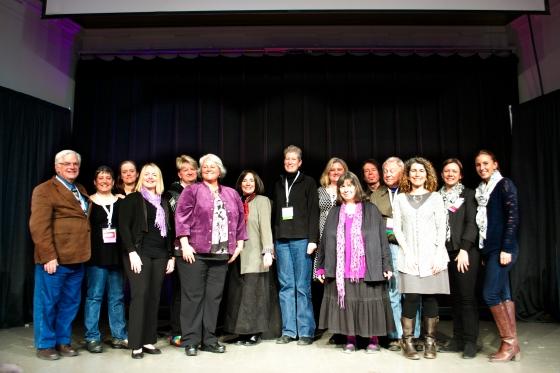 All of the MAEA Art Ed award winners