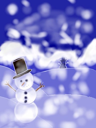 Tessa: For the winter I made a digital drawing of snowman on snowy hills. First I made the outline for everything, adding details on the snowman's face. Then I used flood fill to fill the hills, sky, trees and the snowman's features. Then with another layer I shaded. If I did this project again I would try to attempt snowy trees again. Although this project looks easy it is a bit challenging. But I still loved this project.