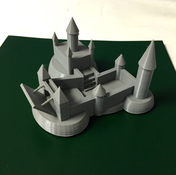 Andrew Murphy Castle 3D Design and Printing Grade 7