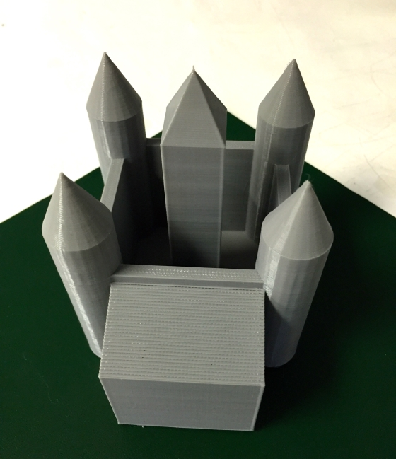 Owen Brigham Castle 3D Design and Printing Grade 6