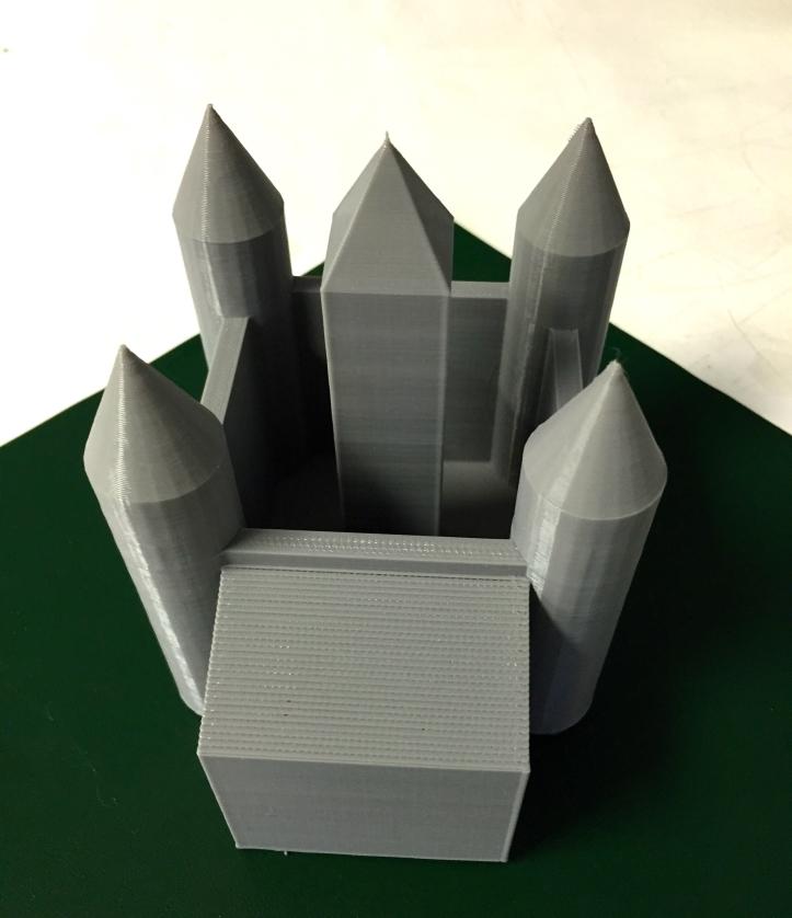 Owen Brigham Castle 3D Design and Printing Grade 6