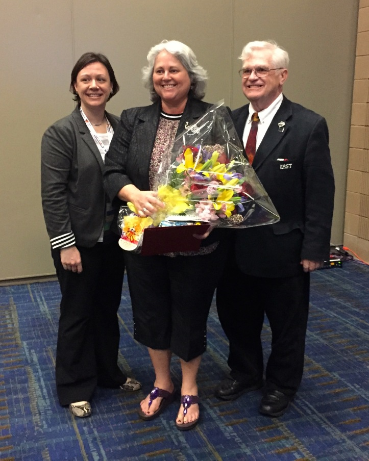 With Kristi Oliver, MAEA President and Peter Geisser, NAEA Eastern President