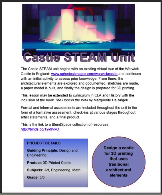 Castle STEAM Unit