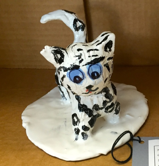 Snow Leopard/Ceramics