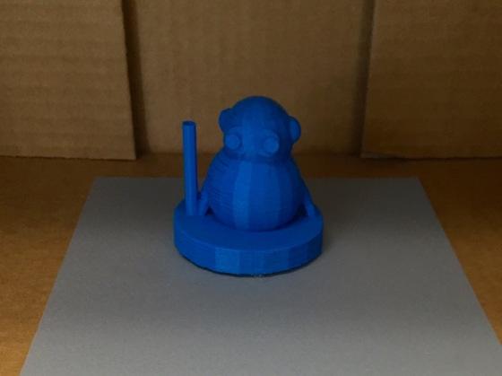 #3D Designed & Printed Panda