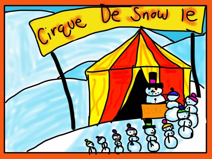 Sabrina Cassano/Cirque de Snow Le/Digital Art