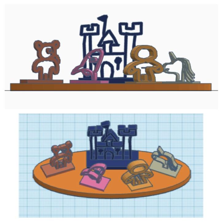 Cameron Giles/Game Pieces/3D Design and Printing